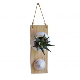 Porte plante petit modèle blanc