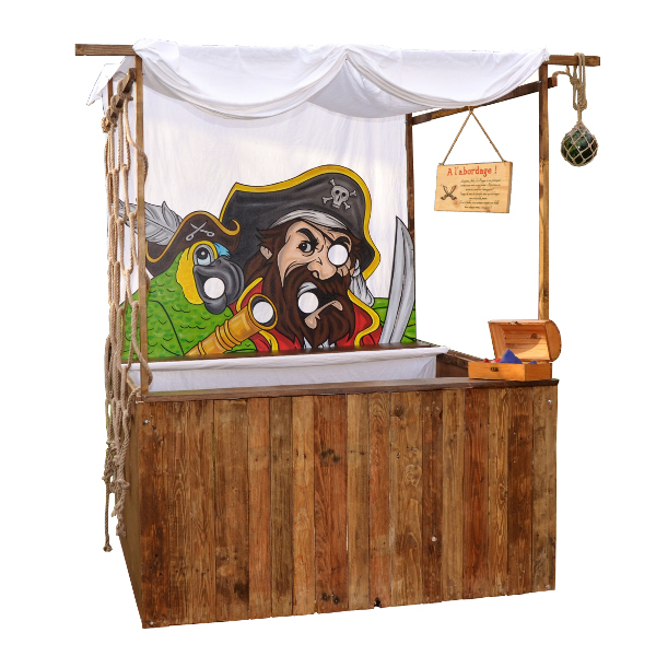 Stand de jeu Pirates