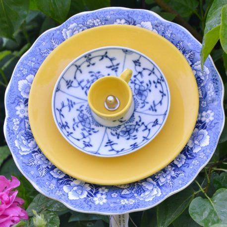 Fleur GM bleue
