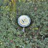 Fleur géante pour décoration de jardin