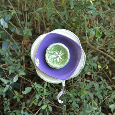 Fleur chou, décoration massif
