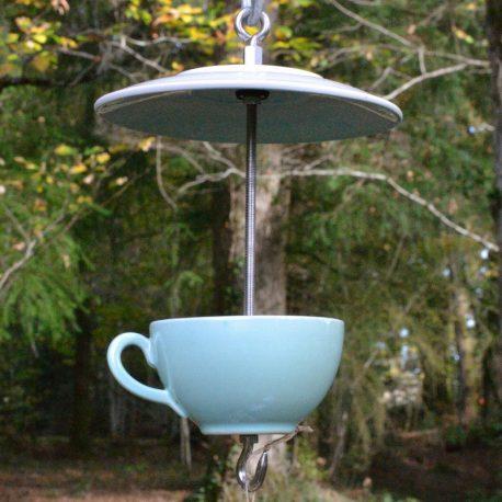 Mangeoire pour oiseau, décoration de jardin