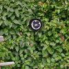 Rose en vaisselle recyclée