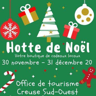 La Hotte de Noël à Bourganeuf