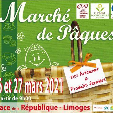 Marché de Pâques à Limoges