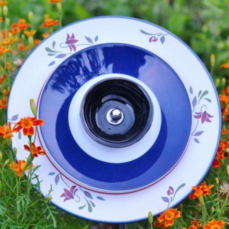 Fleur jardinière fleurie bleue (3)